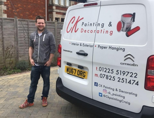 Taking on a new client – CK Painting & Decorating